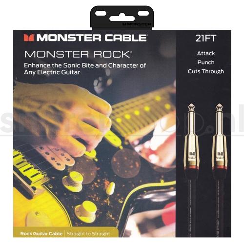 Monster Cable Rock2-21 Gitaarkabel - 6.4 Meter