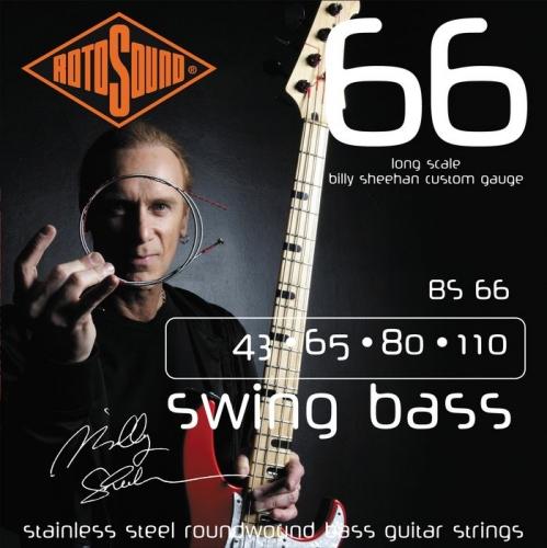 Rotosound BS66 Billy Sheehan Bassnaren (43-110)