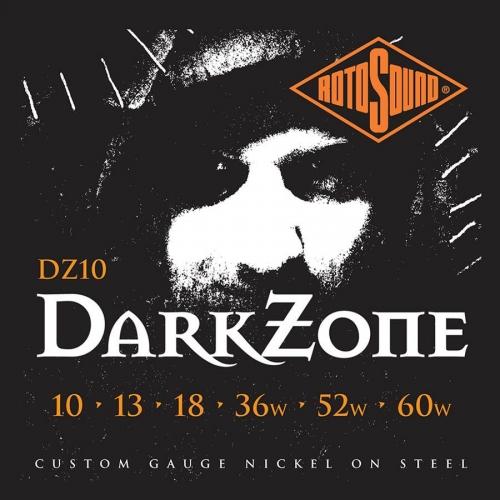 rotosound dark zone snaren 10-60 nickel wound limited edition