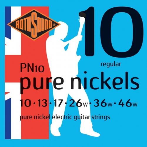 rotosound pn10 pure nickel snaren