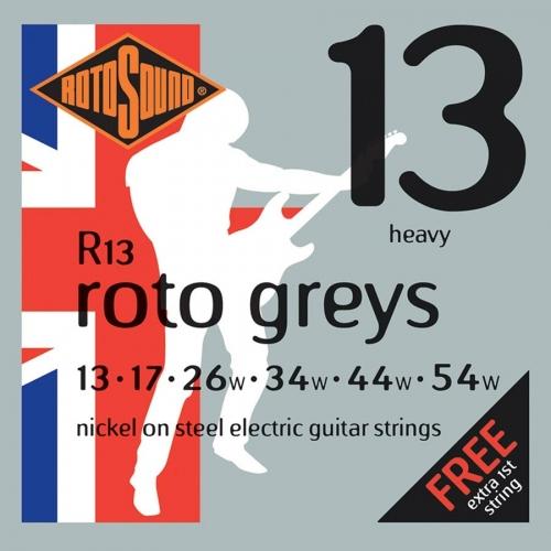 Rotosound R13 Roto Greys Snarenset voor Elektrische Gitaar (13-54)