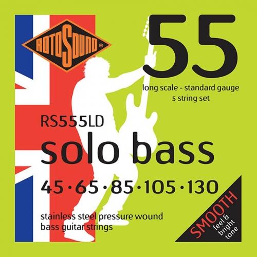 rotosound rs555ld 5-snarige basset