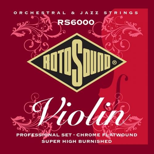 rotosound rs6000 viool snaren