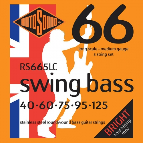 Rotosound RS665LC Bassnaren Long Scale (40-125)