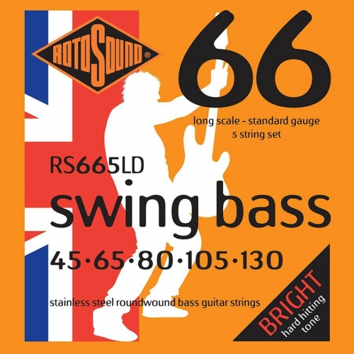 Rotosound RS665LD Bassnaren Long Scale (45-130)