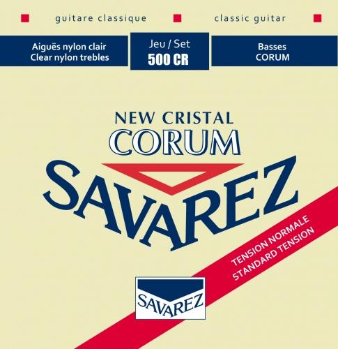 Savarez 500CR New Cristal Corum Snaren voor Klassieke Gitaar - Normale Spanning