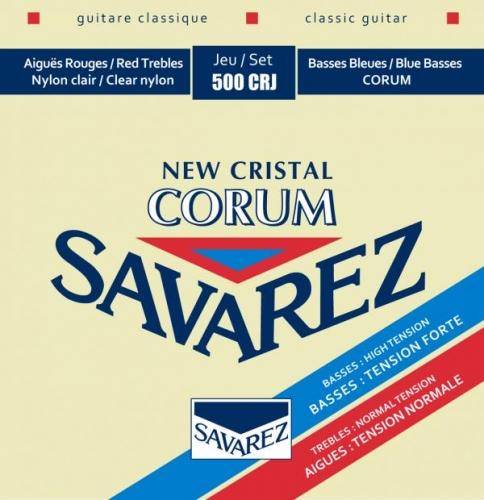 Savarez 500CRJ New Cristal Corum Snaren voor Klassieke Gitaar - Gemengde Spanning