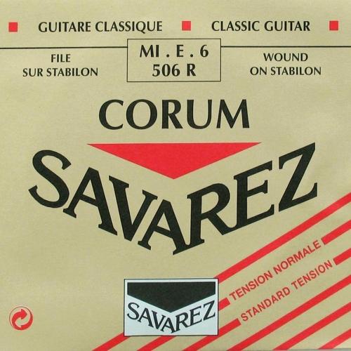 Savarez 506R Losse Silverwound E6-Snaar - Normale Spanning