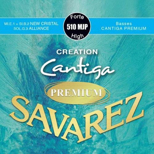 Savarez 510MJP Creation Cantiga Premium Klassieke Gitaarsnaren - Hoge Spanning