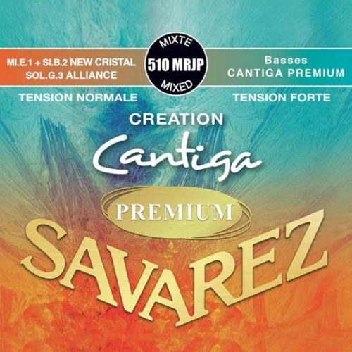 Savarez 510MRJP Creation Cantiga Premium Klassieke Gitaarsnaren - Gemengde Spanning