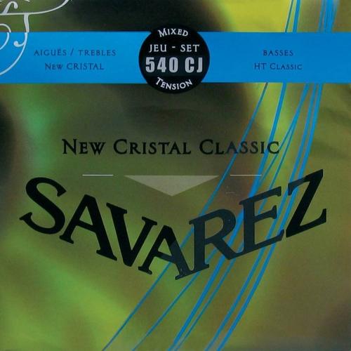Savarez 540CJ New Cristal Snaren voor Klassieke Gitaar - Hoge Spanning