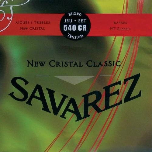Savarez 540CR New Cristal Snaren voor Klassieke Gitaar - Normale Spanning
