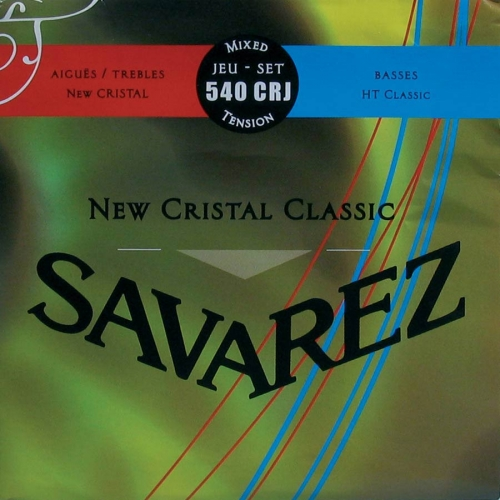 Savarez 540CRJ New Cristal Snaren voor Klassieke Gitaar - Gemengde Spanning