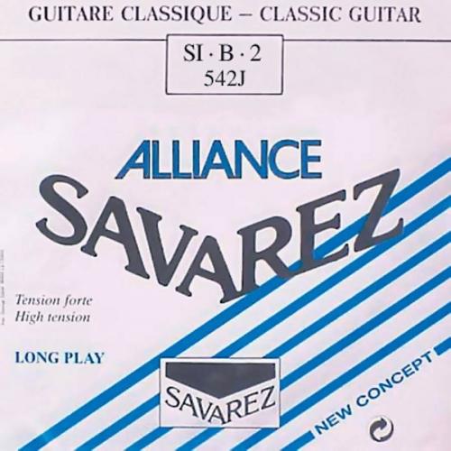 Savarez 542J Losse Composiete B2-Snaar - Hoge Spanning