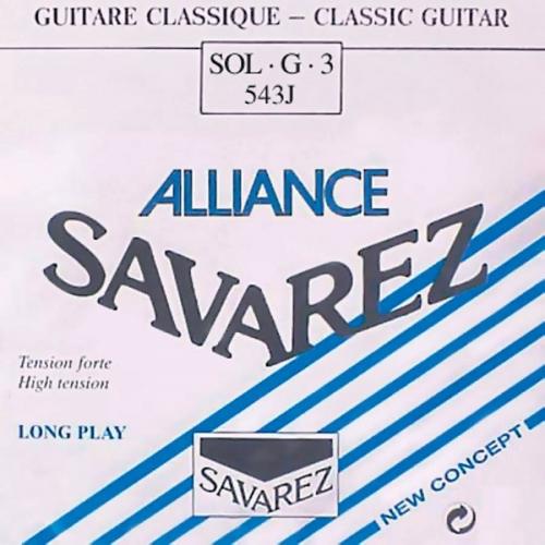 Savarez 543J Losse Composiete G3-Snaar - Hoge Spanning