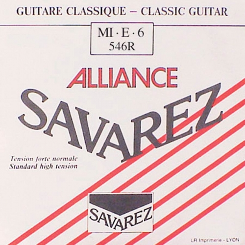 Savarez 546R Losse Composiete E6-Snaar - Normale Spanning