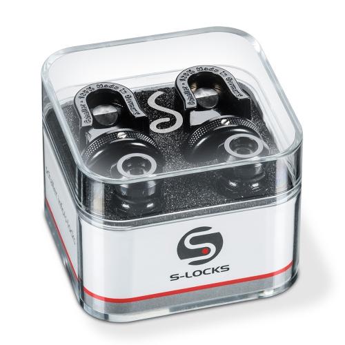 Schaller S-Locks Straplocks Zwart Chroom - 14010401