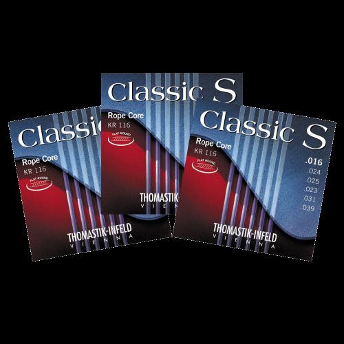 Thomastik KR116 Classic S Klassieke Snaren 3-Pack