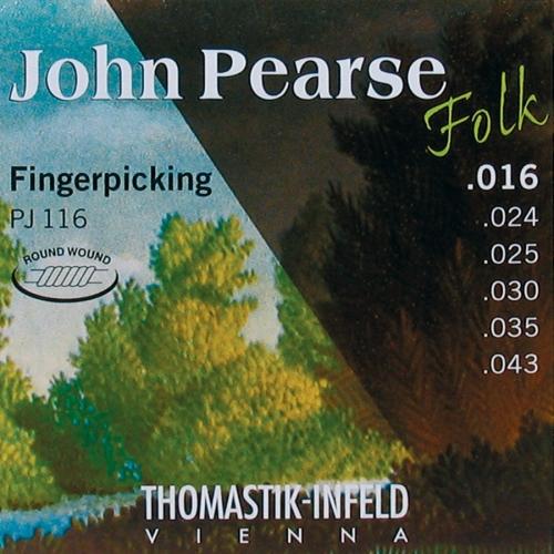 Thomastik PJ116 John Pearse Nylon Folk Snaren