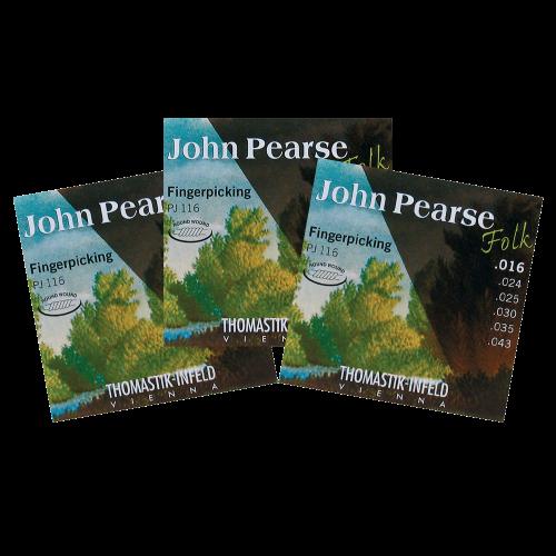 Thomastik PJ116 John Pearse Nylon Folk Snaren 3-Pack