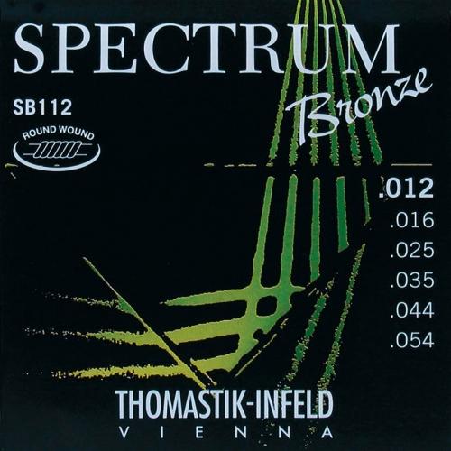 Thomastik SB112 Bronze Roundwound Akoestische Snaren (12-54)