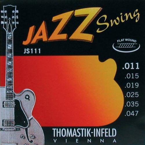 Thomastik JS111 Flatwound Jazz Snaren (11-47)