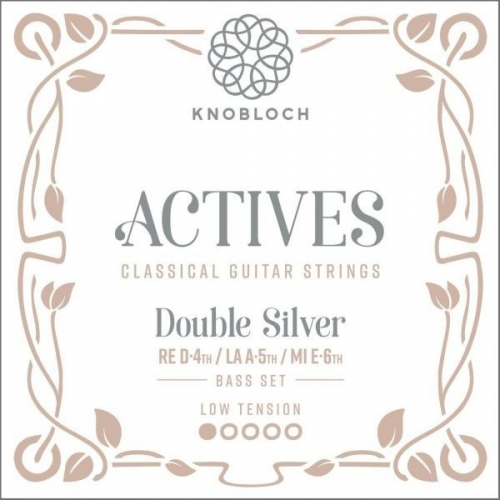 Knobloch 200ADS Double Silver Bass Set - Lage Spanning