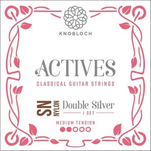 Knobloch 300ADN Actives Double Silver SN Nylon Gitaarsnaren - Normale Spanning