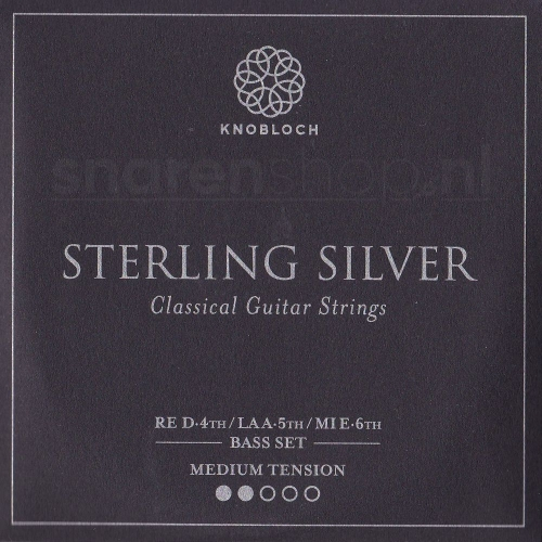 Knobloch 300SS Sterling Silver Bass Set - Normale Spanning