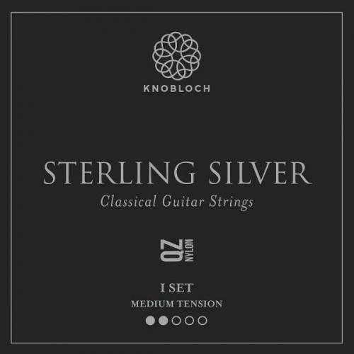 Knobloch 300SSQ Sterling Silver QZ Nylon Gitaarsnaren - Normale Spanning