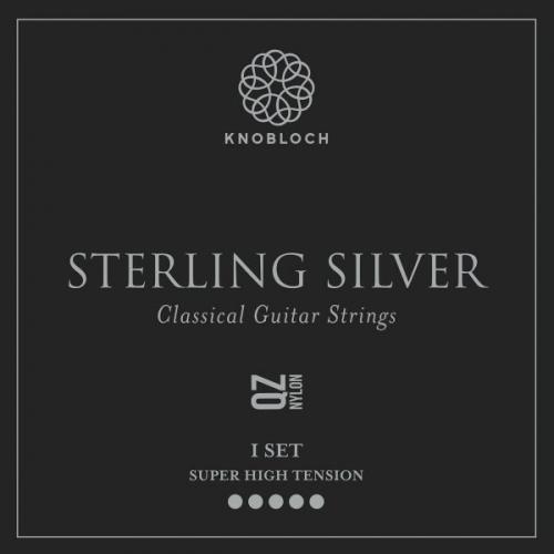 Knobloch 600SSQ Sterling Silver QZ Nylon Gitaarsnaren - Extra Hoge Spanning