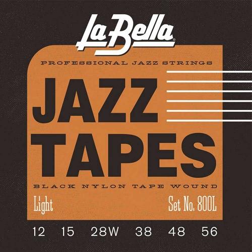 La Bella 800L Nylon Tape Wound Elektrische Gitaarsnaren (12-56)