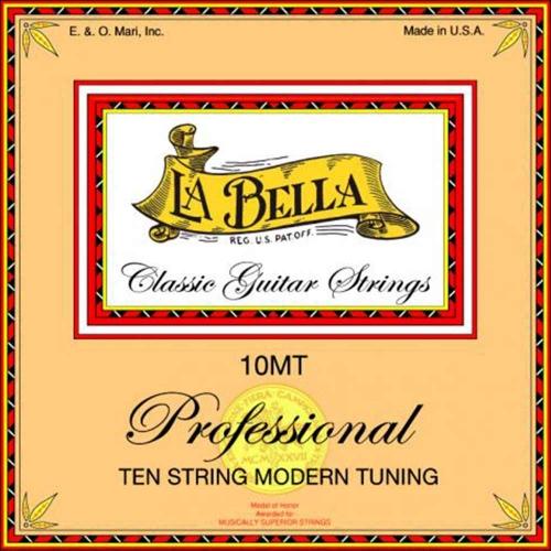 La Bella 10MT Klassieke Gitaarsnaren 10-Snarig - Moderne Stemming