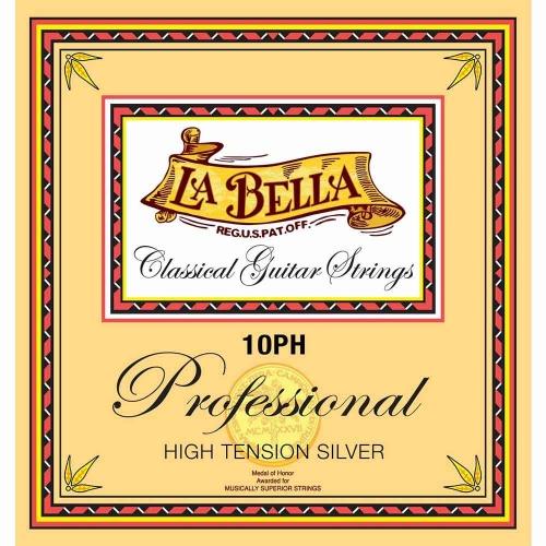 La Bella 10PH snaren, hoge spanning, professional serie