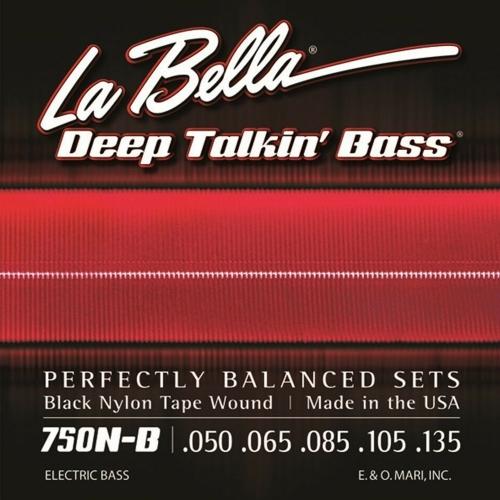 la bella black nylon bassnaren kopen, l750n b, l750nb, la bella l750n