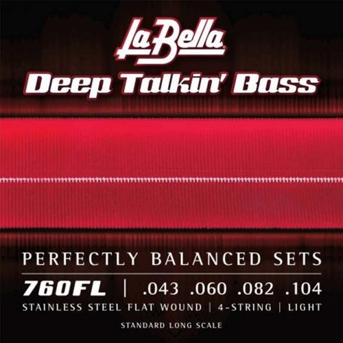 La Bella 760N Snaren voor Elektrische Basgitaar (60-115