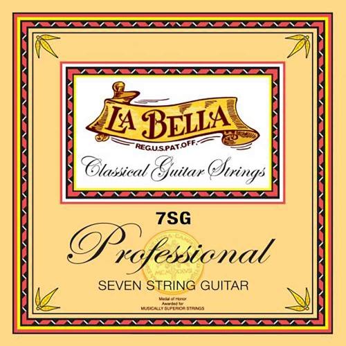 La Bella 7SG Professional Klassieke Gitaarsnaren 7-Snarig