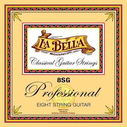 La Bella 8SG Professional Klassieke Gitaarsnaren 8-Snarig