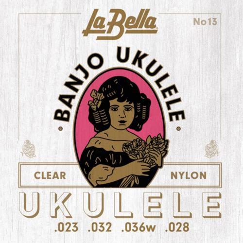 La Bella L-13 Banjolele Snarenset (23-28)