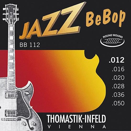 Thomastik BB112 BeBop Jazz Elektrische Gitaarsnaren (12-50)