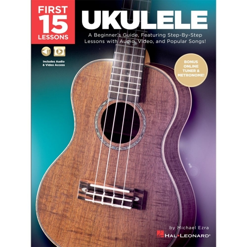Ukulele First 15 Lessons Ukulele Lesboek
