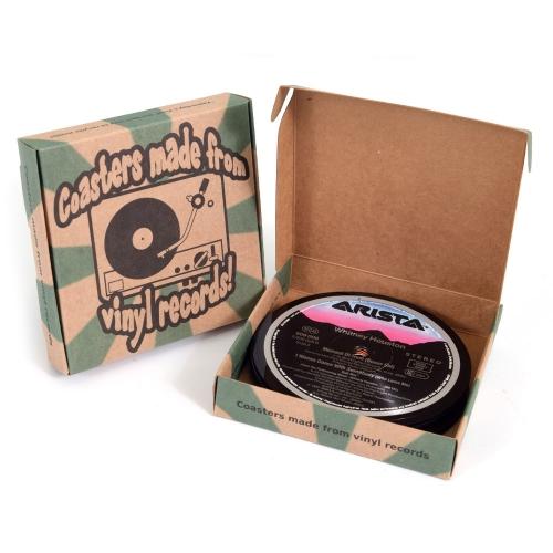 Yesterday's Vinyl Onderzetters - Set van 10 Stuks
