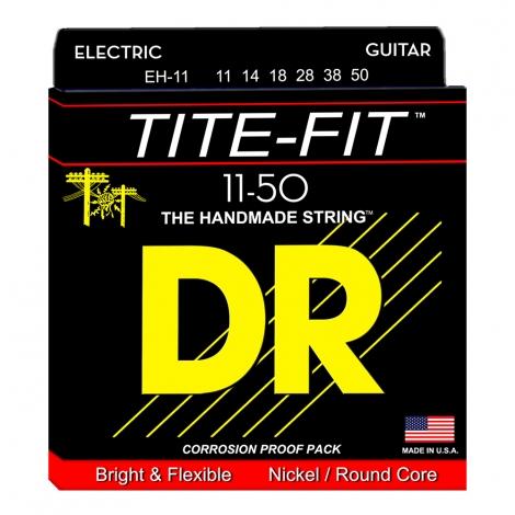 DR EH11 Tite-Fit Snaren voor Elektrische Gitaar (11-50) Heavy