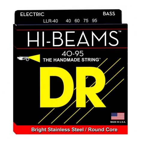 DR Strings LLR40 Hi-Beam Bassnaren (40-95)