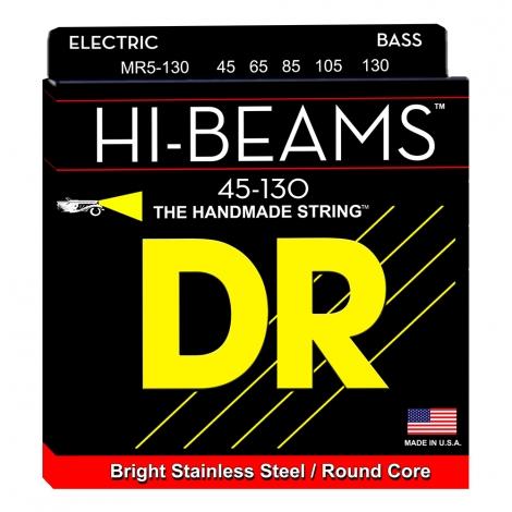 DR Strings MR5-130 Hi-Beam Bassnaren 5-Snarig (45-130)