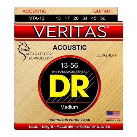 DR Strings VTA13 Veritas Akoestische Gitaarsnaren (13-56)