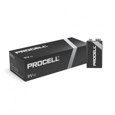 Duracell Industrial 9 Volt batterij - p. doos