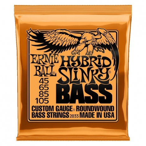 Ernie Ball 2833 Hybrid Slinky Snaren voor Elektrische Basgitaar (45-105)
