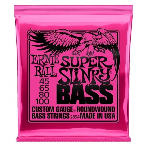 Ernie Ball 2834 Super Slinky Bassnaren (45-100)