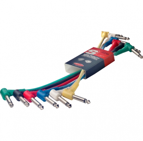 Stagg SPC010L Patchkabel 6-Pack